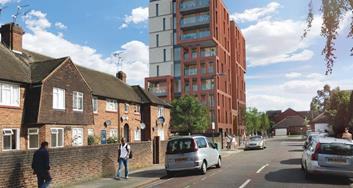 Image for Work starts to transform former Neasden print works into new affordable homes