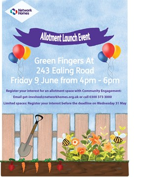 Green Fingers event poster