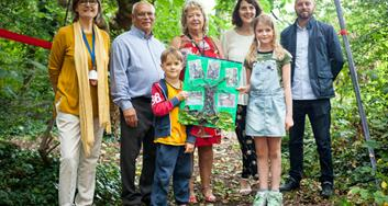 Image for Historical woodland donated to Brondesbury school