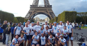 Image for Network Homes completes London to Paris bike ride to raise largest ever challenge amount for St Mungo's