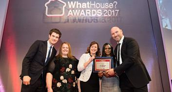 Image for Network Homes wins Gold for Best Starter Home Scheme at WhatHouse? Awards 2017