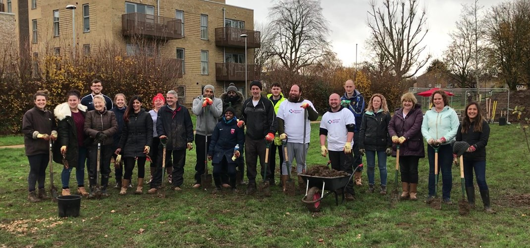Rectory Park Community Orchard volunteers