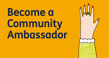 Become a community ambassador